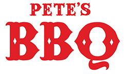 Pete's BBQ logo top